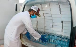 الصورة: «النعيمي الخيرية» توزع 120 ألف وجبة في عجمان