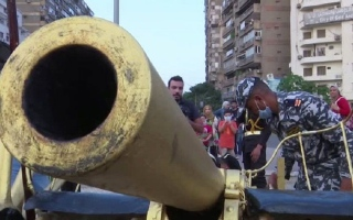 الصورة: «القاهرة الكبرى» تحيي تقليد إطلاق مدفع إفطار رمضان