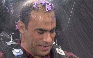 """الصورة: بالصور.. سيد عبد الحفيظ: """"بفكر أزرع شعري"""" ورامز جلال يرد"""