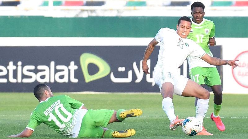 فريق الإمارات يتصدر دوري «الهواة» ويحتاج إلى ثلاث نقاط فقط للتأهل. الإمارات اليوم