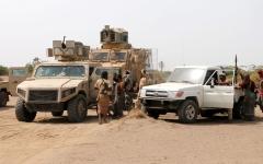 الصورة: الجيش اليمني والقبائل يسيطران على مواقع جديدة في نهم وصرواح