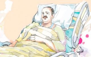 الصورة: «أبوعيسى» يعاني تضخم «البروستات» ويعجز عن تدبير كلفة الأدوية
