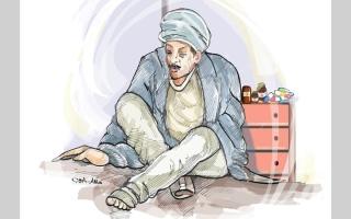 الصورة: متبرع وجمعية «تراحم» يتكفلان بعلاج «أبوهبة» من السرطان