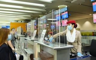 """الصورة: أولى رحلات """"طيران الإمارات"""" المنتظمة انطلقت إلى هذه المحطات"""