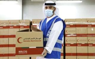 الصورة: موظفو «أدنوك» يجمعون مليون درهم لدعم «الخير»