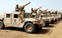 الصورة: الجيش اليمني يحرّر 8 مواقع شرق الحزم بالجوف