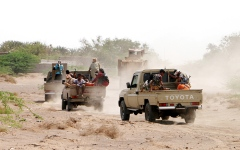 الصورة: الجيش اليمني يحبط هجمات «حوثية» في 5 جبهات