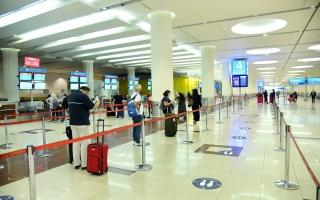 الصورة: «مطارات دبي»: كفاءة عالية  في استقبال الرحلات المجدولة