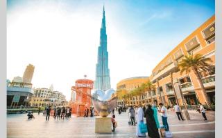 الصورة: 70% معدل تشغيل قطاع التجزئة في دبي
