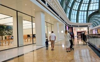 """الصورة: """"بلدية دبي"""": السماح بالعروض التسويقية و70% حداً أقصى لنسبة الإشغال في مراكز التسوق"""