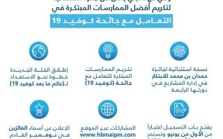 الصورة: ولي عهد دبي يطلق جائزة استثنائية لتكريم أفضل الممارسات المبتكرة في مواجهة جائحة كوفيد-19 ومعالجة تبعاتها