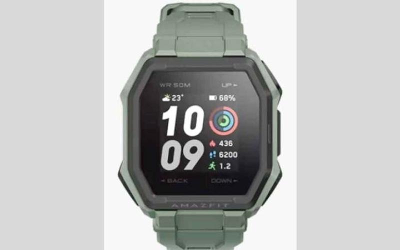 الصورة: «أمازفيت» تكشف عن ساعة ذكية جديدة