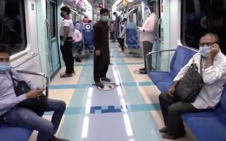 """الصورة: فيديو.. إقبال على المواصلات العامة ومراكز الخدمات يخضع لشروط وقائية مشددة تطبقها """"طرق دبي"""""""