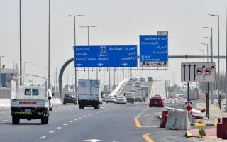 الصورة: «البنية التحتية» تفتتح جسر شارع الاتحاد بعجمان