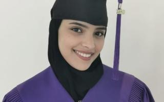 الصورة: فاطمة النعيمي: مباركة محمد بن راشد أكبر مكافأة لتفوقي