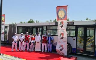 50 ألف فحص مبكر لـ «كورونا» بالعيادة المتنقلة في عجمان منذ مارس الماضي