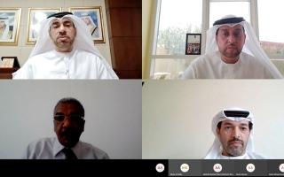الصورة: «ورشة حكومة دبي» تناقش الإجراءات الحكومية الاحترازية