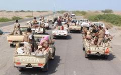 الصورة: وصول الجيش اليمني إلى تخوم مدينة الحزم في الجوف