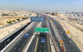 الصورة: افتتاح جسر أم سقيم اليوم.. يخفض زمن الرحلة باتجاه شارع الخيل من 18 إلى 7 دقائق