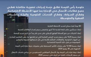 الصورة: حكومة رأس الخيمة تطلق حزمة محفزات اقتصادية متكاملة لدعم اقتصاد الإمارة
