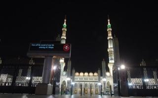 الصورة: المسجد النبوي يستقبل المصلين بعد إغلاق 70 يومًا