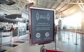 الصورة: مطار الشارقة يستعد لاستقبال رحلات عودة المقيمين إلى الدولة