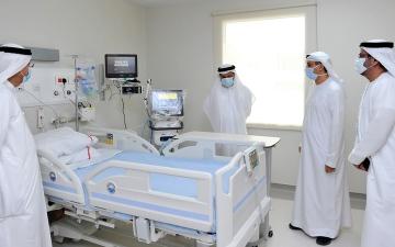 الصورة: «صحة دبي» تشيد منشأة طبية لعزل «كورونا»