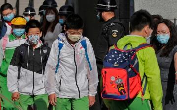 الصورة: الصين تسجل قفزة جديدة في الإصابات بـ «كورونا»