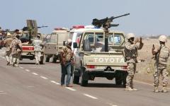 الصورة: «التحالف» يدمّر منصات إطلاق صواريخ ومخازن أسلحة حوثية