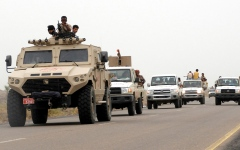 الصورة: عملية عسكرية نوعية تطال أكبر تعزيزات الحوثيين في صنعاء