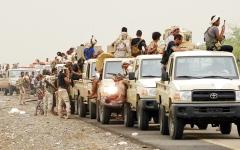 الصورة: مصرع عدد من قيادات الحوثي في جبهات محيط صنعاء