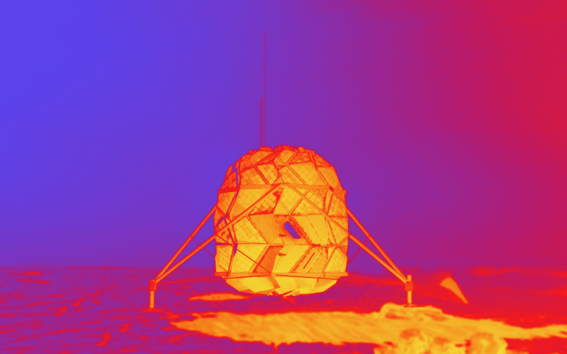 الصورة: بالفيديو.. شاهد كيف سيكون شكل أول مسكن على سطح القمر