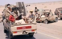 الصورة: مصرع قيادات حوثية بارزة في معارك جبهات صنعاء