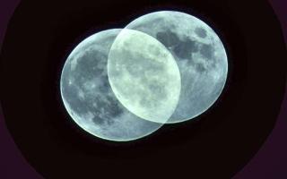 الصورة: بالصور.. خسوف ظليلي للقمر في روسيا