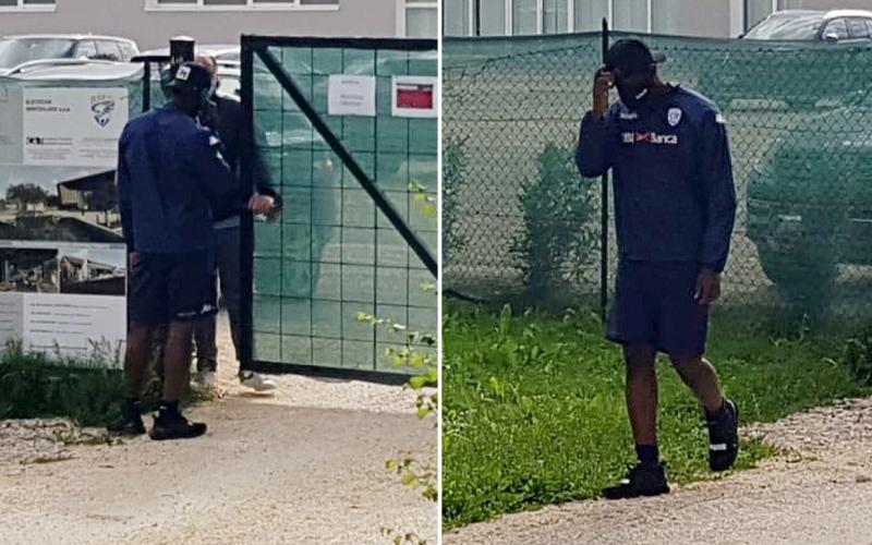 الصورة: بالفيديو.. بريشيا الإيطالي يمنع بالوتيلي من دخول معسكر النادي