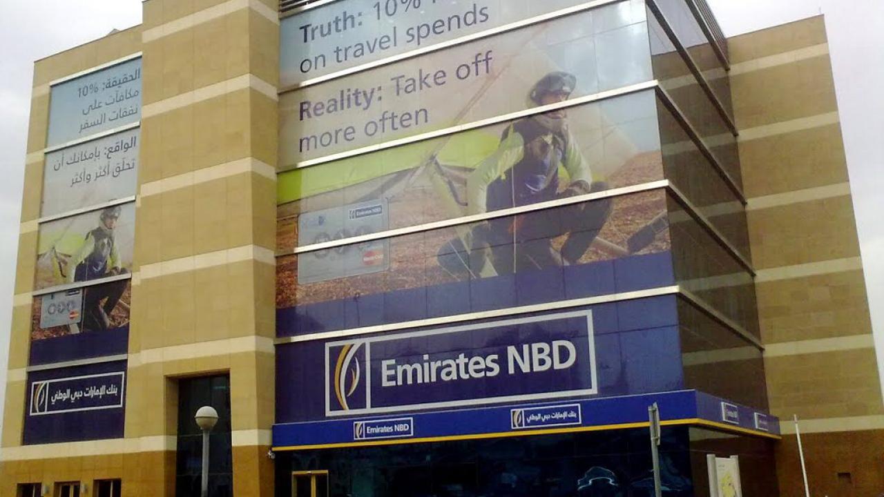 بنك أوف أميركا يشتري 100 مليون سهم في الإمارات دبي الوطني