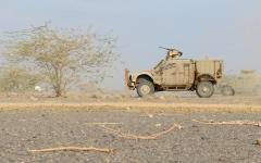 الصورة: الجيش اليمني يسيطر على وادي صرواح الأسفل في مأرب