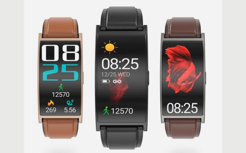 الصورة: «ماكيبس» تطلق ساعة ذكية بشاشة منحنية