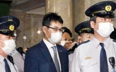 الصورة: اعتقال وزير العدل الياباني السابق في فضيحة شراء أصوات انتخابية