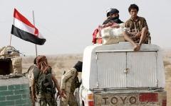 الصورة: معارك في البيضاء والجوف تودي بـ 21 قيادياً حوثياً  وأسر 73 عنصراً