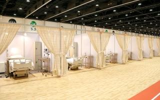 الصورة: 6334 سريراً طبياً لمرضى «كورونا» في أبوظبي