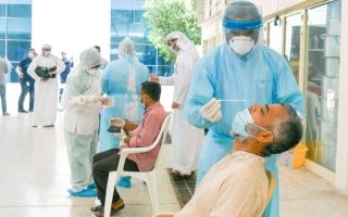 الصورة: توظيف الخريجين من طلبة التمريض بـ«خط الدفاع الأول»