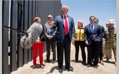 الصورة: ترامب: الجدار مع المكسيك أوقف «كوفيد-19».. و«كل شيء»