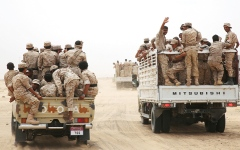 الصورة: الجيش اليمني يطوق حزم الجوف.. ويحرر مواقع بين البيضاء ومأرب