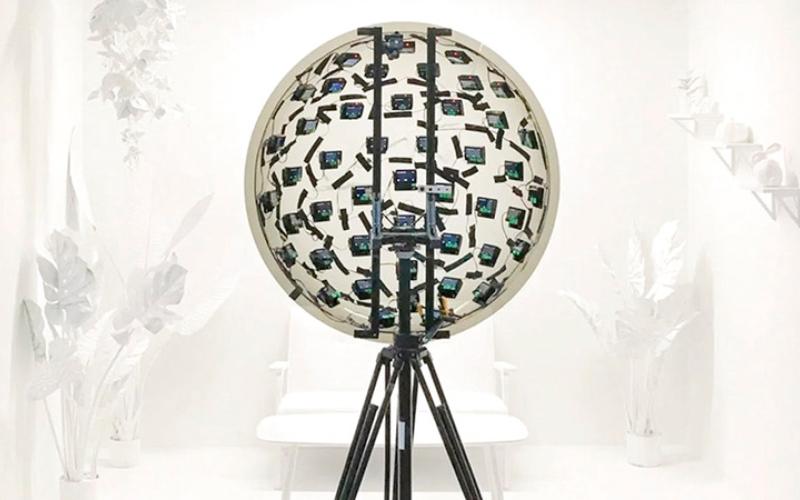 الصورة: «عين عملاقة» تلتقط الصور والفيديو من 46 كاميرا عالية الدقة