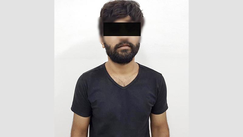 المتهم اعترف بجريمته بعد القبض عليه.  من المصدر