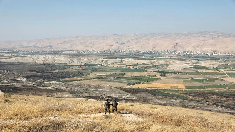 الاحتلال يخطط لضم ما تبقى من أراضي العوجا. من المصدر