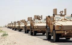 الصورة: الجيش اليمني يتقدّم بصعدة.. ويصدّ هجمات حوثية في نهم صنعاء