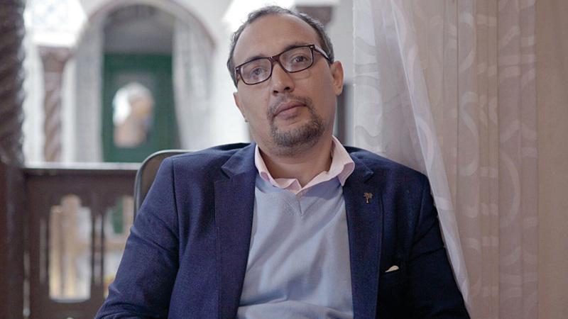 عبدالوهاب عيساوي الفائز بالجائزة العالمية للرواية العربية 2020. أرشيفية