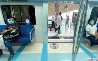 الصورة: مترو دبي.. الرحلة مستمرة